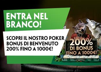 Paddy Power Poker: bonus benvenuto esclusivo